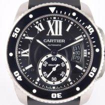 Cartier Calibre de Cartier Diver Stahl 42mm Schwarz Römisch Deutschland, Krefeld