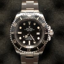 Rolex Sea-Dweller Deepsea Stål 44mm Svart Ingen tall