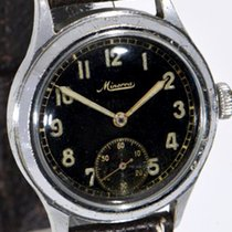 Minerva 34mm Manual winding pre-owned