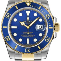 Rolex new Automatic Quick Set 40mm Gold/Steel Sapphire Glass