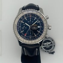 Breitling Navitimer World Steel 46mm Black