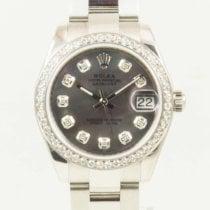 Rolex Lady-Datejust Acero 31mm Negro Sin cifras