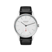NOMOS Orion Neomatik Steel 36mm Silver No numerals