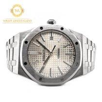 Audemars Piguet Royal Oak Selfwinding Steel 41mm Silver No numerals