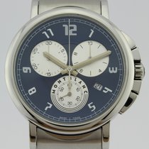 Montblanc Summit pre-owned 39mm Blue Steel