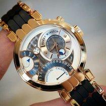 Harry Winston Rose gold 41mm Automatic pre-owned UAE, Gold and Diamond Park Bulding #5 Dubai