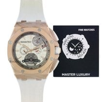 Audemars Piguet Royal Oak Offshore Tourbillon Chronograph Roségold 44mm Keine Ziffern