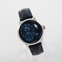 Glashütte Original PanoMaticLunar Acero 40mm Azul