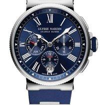 Ulysse Nardin Marine Chronograph Stainless Steel Men's Watch