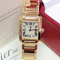 Cartier Tank Française W50002N2 - Box & Papers 1998