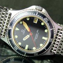 Omega Seamaster Orange Hand Calypso 120m Date Watch & Mesh...