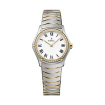 Ebel Sport 1216389 EBEL SPORT CLASSIC Donna  29mm acciaio oro diamanti new