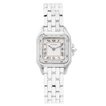 Cartier Panther 18K White Gold with Diamond Bezel WF3091F3