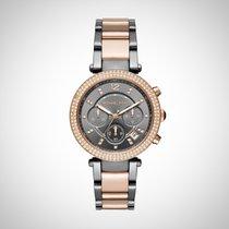 Michael Kors MK6440 Parker Ladies Two Tone Chronograph Watch
