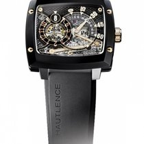 Hautlence HLRS 01 Atelier Black and Silver Honeycomb Dial...