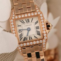 Cartier Santos Demoiselle WF9008Z8 Original Diamonds