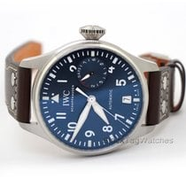 IWC Big Pilot Steel 46.2mm Blue Arabic numerals United States of America, Florida, Aventura