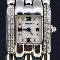 Chaumet Khesis, Steel Diamond Bezel 21MM Quartz MINT