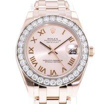 Rolex Pearlmaster Rose gold 34mm Pink United States of America, Georgia, Atlanta
