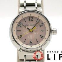 Louis Vuitton ルイ ヴィトン タンブール レディース時計 ピンクシェル