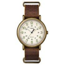 Timex Weekender Leather Mens Watch