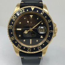 Rolex GMT-Master pre-owned 40mm Yellow gold