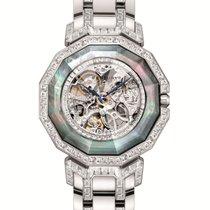 Century new Automatic Skeletonized Gemstones and/or diamonds 38,5mm Sapphire crystal