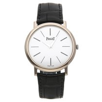 Piaget 38mm Manual winding pre-owned Altiplano White