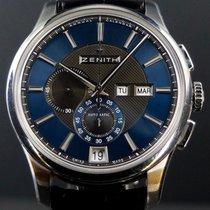 Zenith El Primero Winsor Annual Calendar nouveau 2012 Remontage automatique Chronographe Montre avec coffret d'origine et papiers d'origine 03.2070.4054/22.C708
