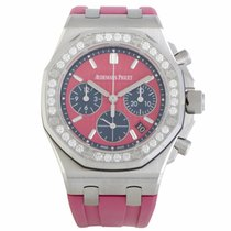 Audemars Piguet Royal Oak Offshore Lady Stahl 37mm Pink Keine Ziffern