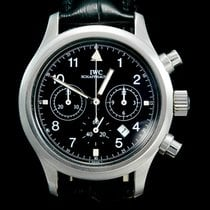 IWC IW3741 Staal Pilot Chronograph 36mm tweedehands