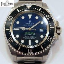 Rolex Sea-Dweller Deepsea usados 44mm Azul Fecha Acero