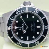Rolex Acero Automático Negro Sin cifras 40mm nuevo Submariner (No Date)