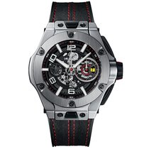 Hublot Big Bang Ferrari new 2019 Automatic Chronograph Watch with original box and original papers 402.NX.0123.WR