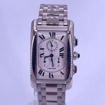 Cartier Tank Américaine White gold 26mm White Roman numerals United States of America, California, Beverly Hills