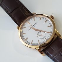 Vacheron Constantin Rose gold Manual winding White No numerals 38mm pre-owned Patrimony