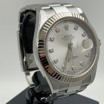 Rolex Datejust II Stahl 41mm Silber Keine Ziffern Deutschland, Berlin