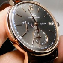 IWC Portofino Hand-Wound Rose gold 45mm Grey