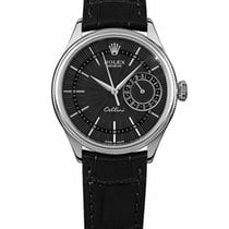 Rolex Cellini Date White gold 39mm Black No numerals South Africa, Johannesburg