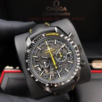 Omega Speedmaster Professional Moonwatch Κεραμικό 44.2mm Μαύρο