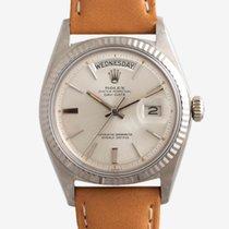 Rolex Day-Date 36 White gold 36mm White No numerals UAE, Dubai