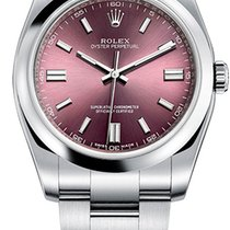 Rolex Oyster Perpetual 36 Steel 36mm Purple Arabic numerals United Kingdom, London