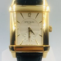Patek Philippe Gondolo Yellow gold Silver No numerals