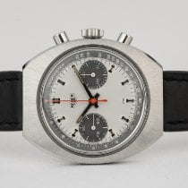 Heuer Steel 38mm Manual winding 73373 pre-owned