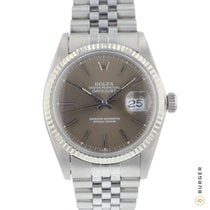 Rolex Datejust Gold/Steel 36mm Brown