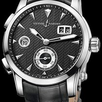 Ulysse Nardin Dual Time Steel 42mm Black