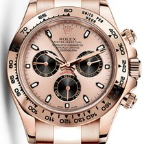 Rolex Cosmograph Daytona Everose Gold Pink Black Dial