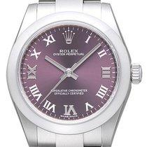 Rolex Oyster Perpetual 31 Stahl 31mm Violett Römisch Deutschland, Bietigheim-Bissingen