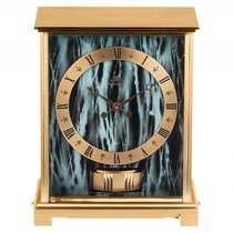 Jaeger-LeCoultre Atmos Embassy VII Gelbgold Messing marmoriert...