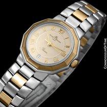 Baume & Mercier Ladies Riviera Two-Tone Watch - Stainless...